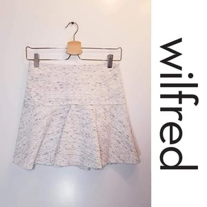 Wilfred Flared Mini Skirt
